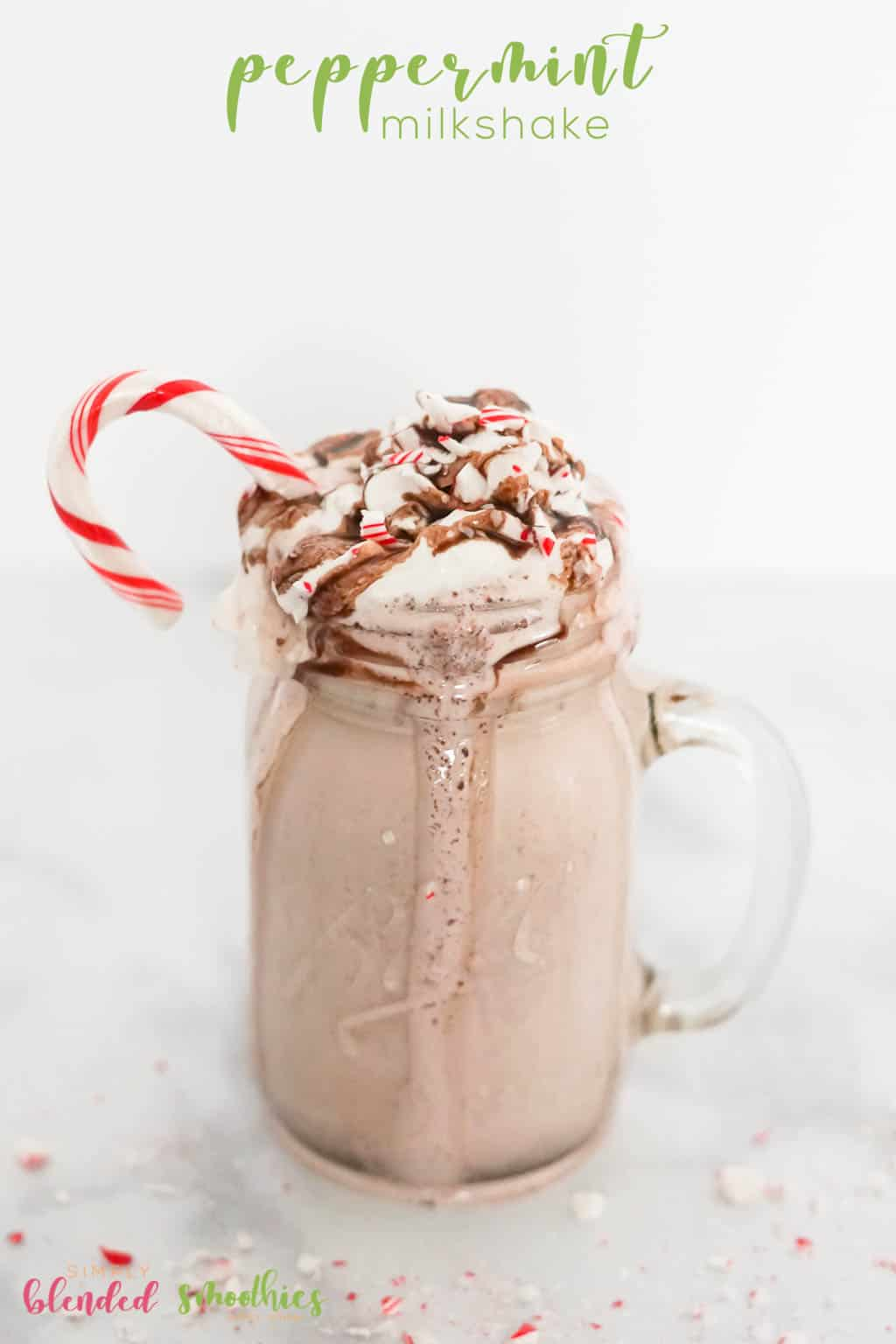 How to make a knock-off Peppermint Shake - peppermint milkshake - pappermint shake recipe