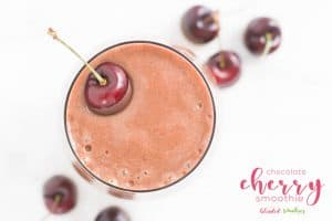 Chocolate Cherry Smoothie Recipe