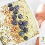 Avocado Green Smoothie Bowl Recipe