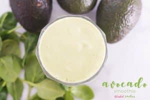 Avocado Smoothie - a delicious healthy smoothie