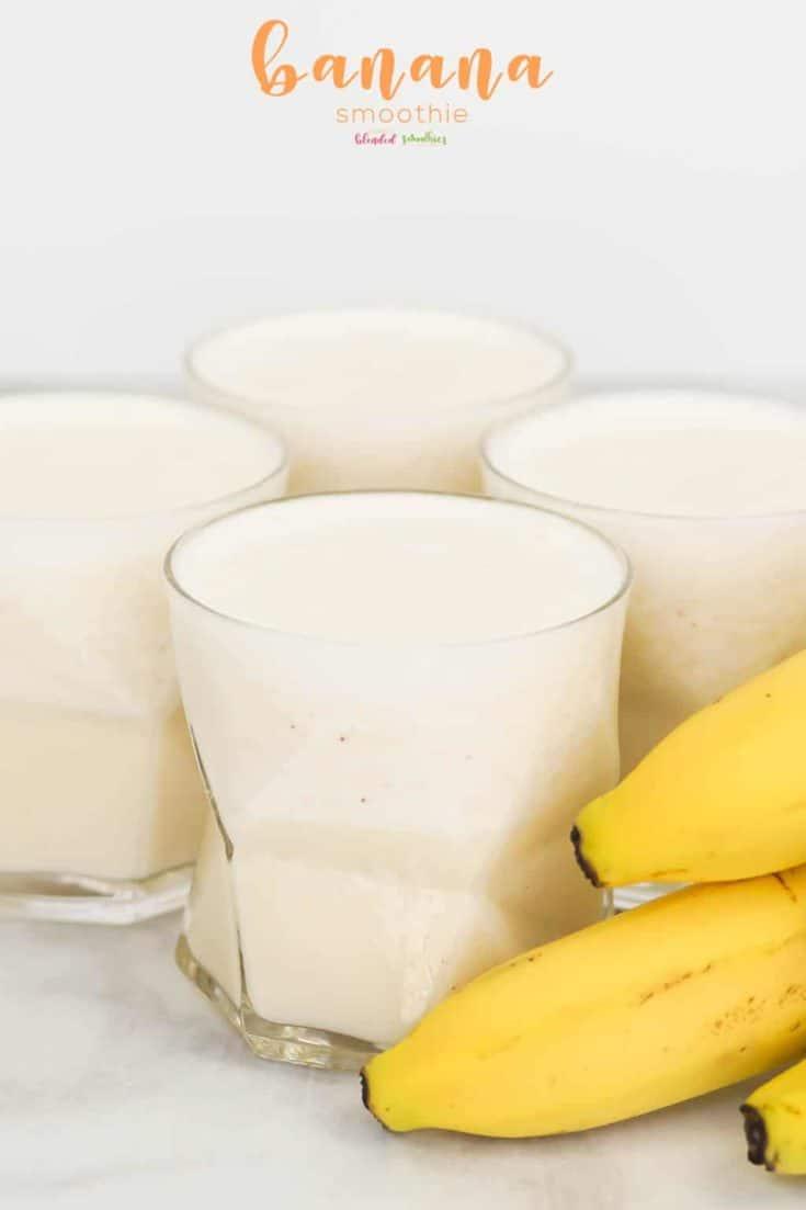 Easy Banana Smoothie Recipe