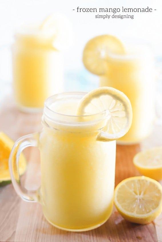 Frozen Mango Lemonade Recipe
