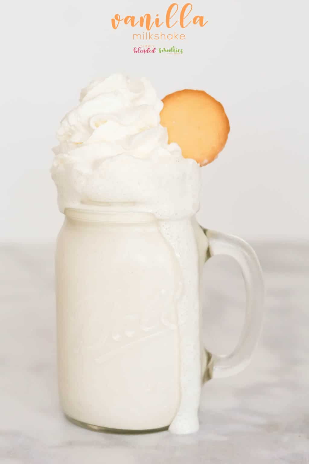 Delicious Vanilla Milkshake