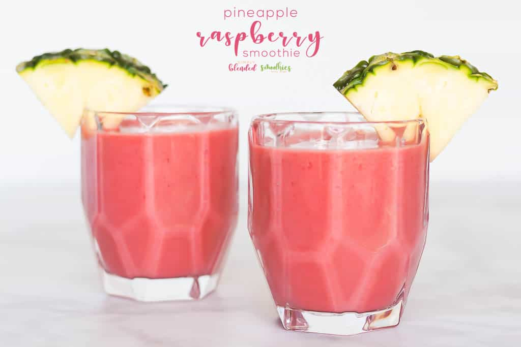 Pineapple Raspberry Smoothie Recipe