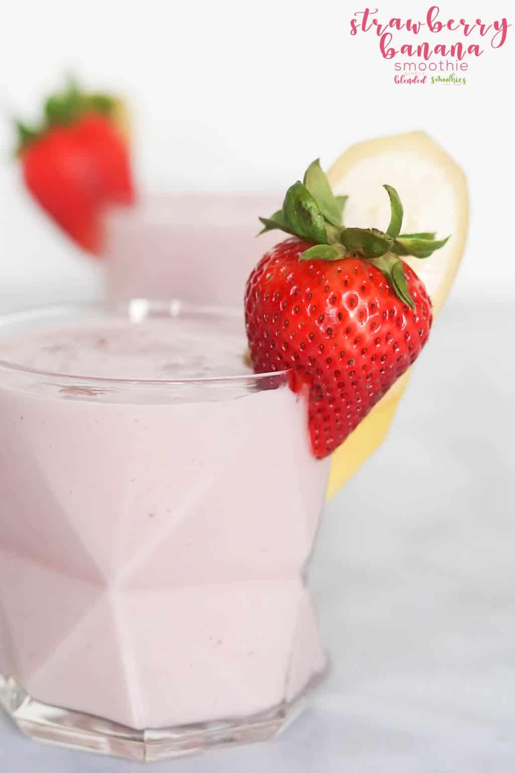 Delicious Strawberry Banana Smoothie