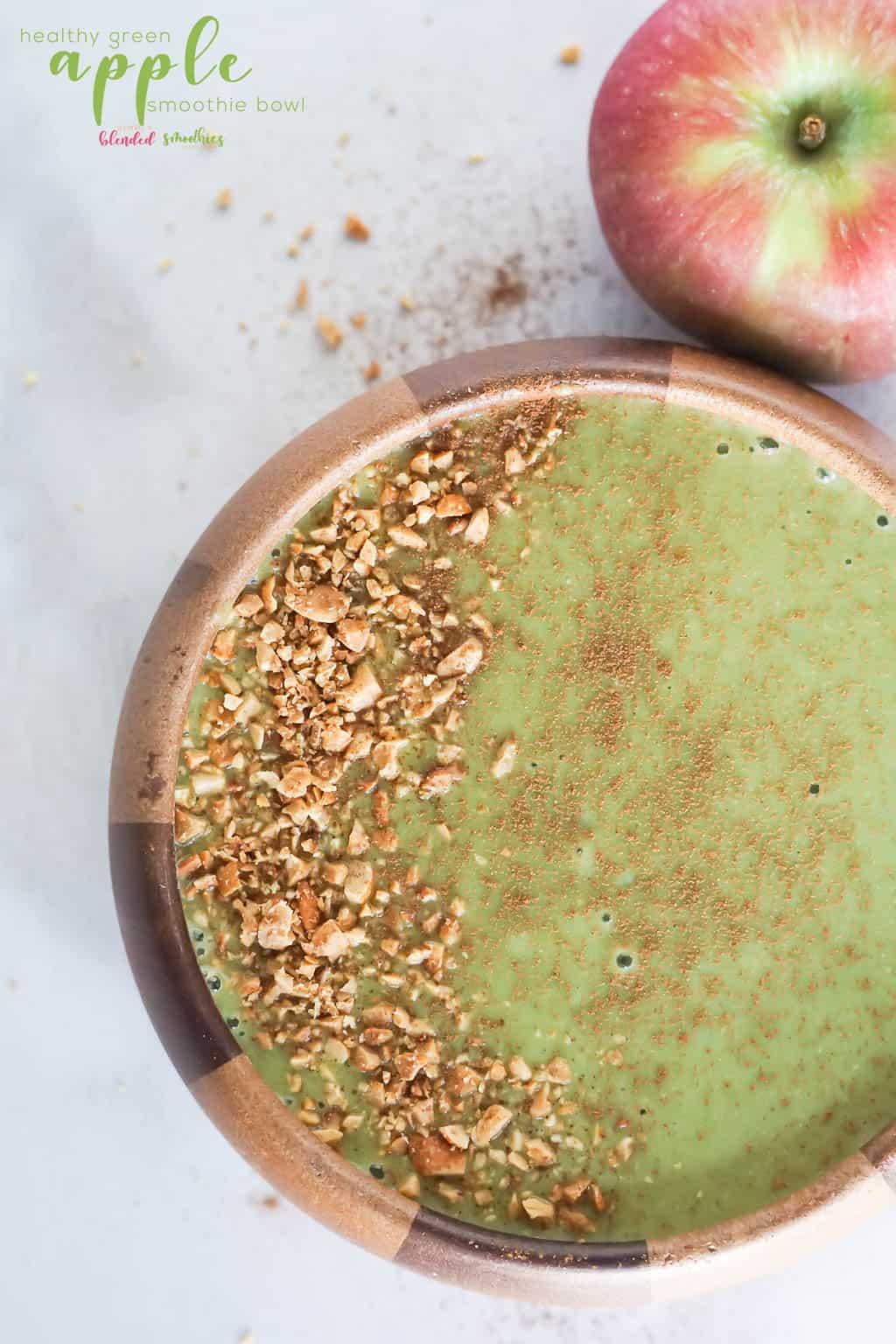 Green Apple Smoothie Bowl Recipe