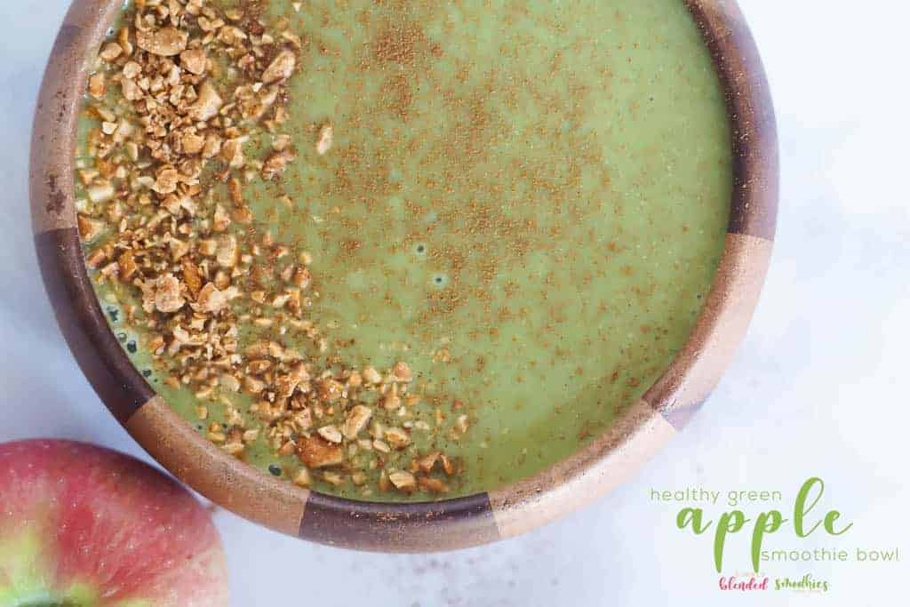 Green Apple Smoothie Bowl