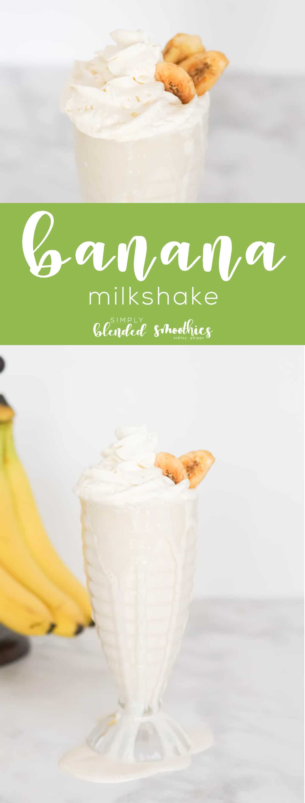 This delicious Banana Milkshake is super simple to make is so delicious and it only takes a few ingredients to make yourself