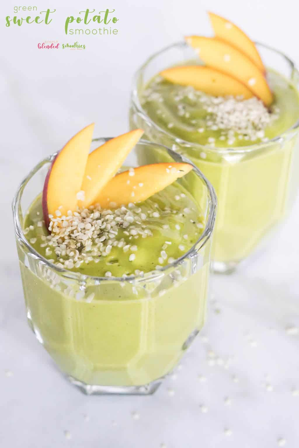 Green Sweet Potato Smoothie Recipe