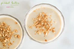 Healthy Peanut Butter Smoothie