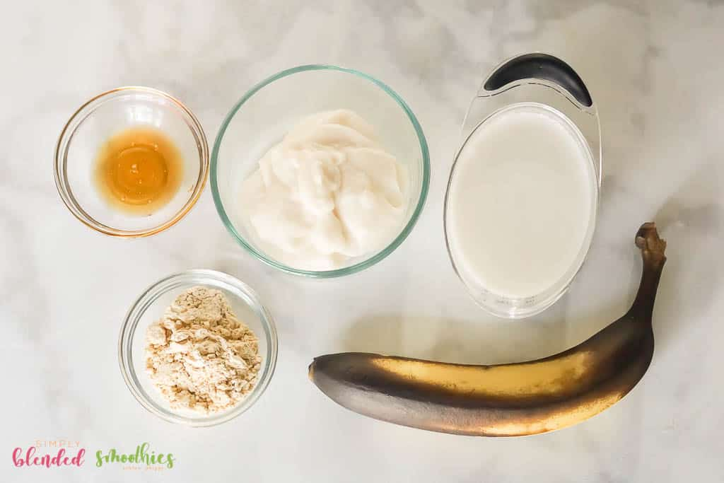 peanut butter smoothie ingredients