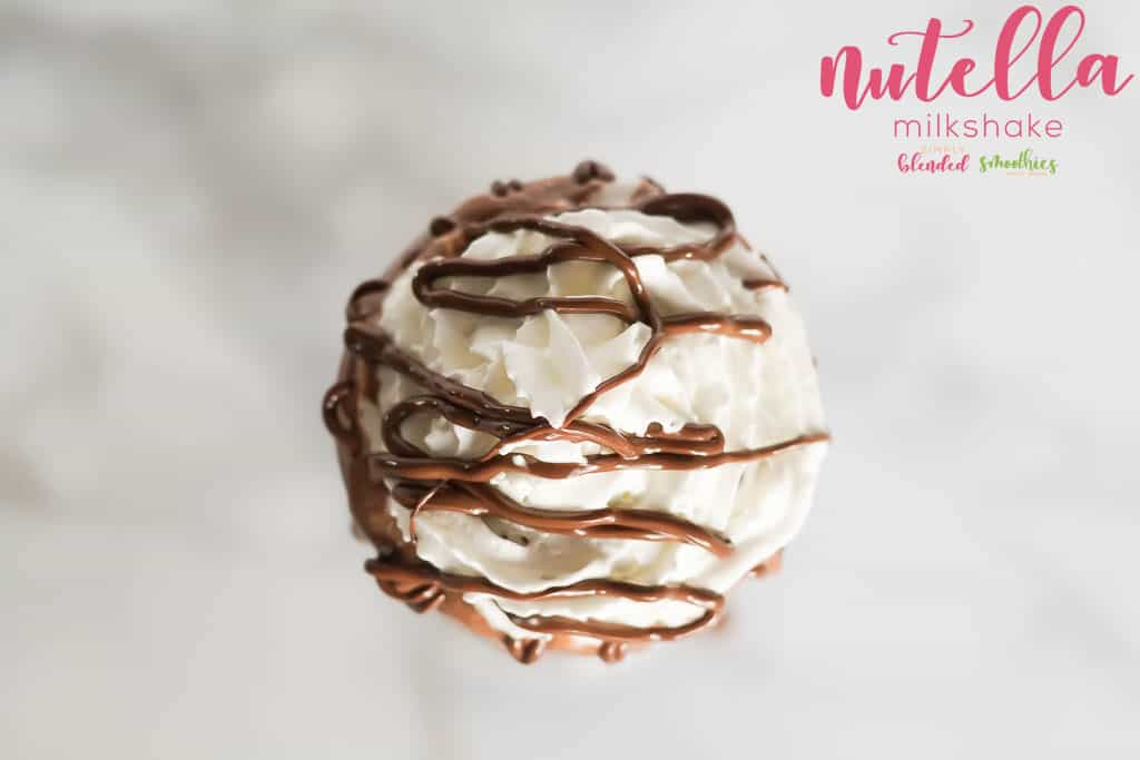 Delicious Nutella Milkshake
