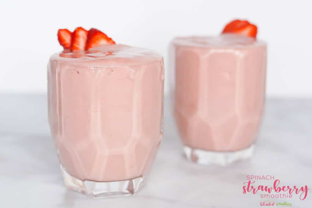 Strawberry Spinach Smoothie Recipe