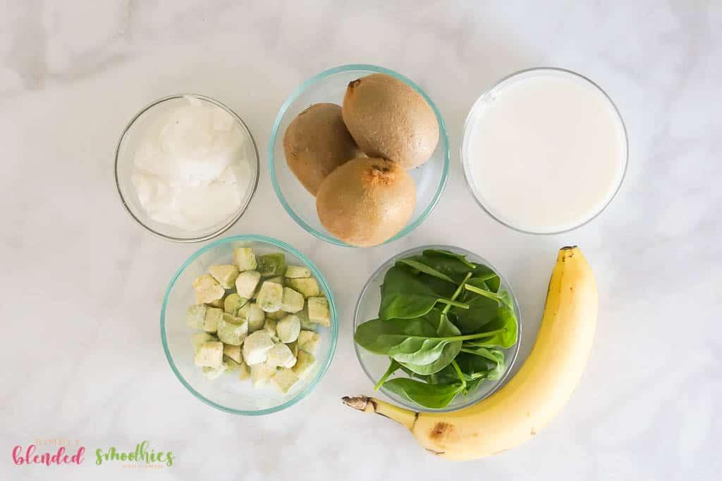 kiwi smoothie ingredients