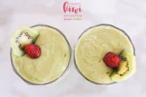 delicious kiwi smoothie
