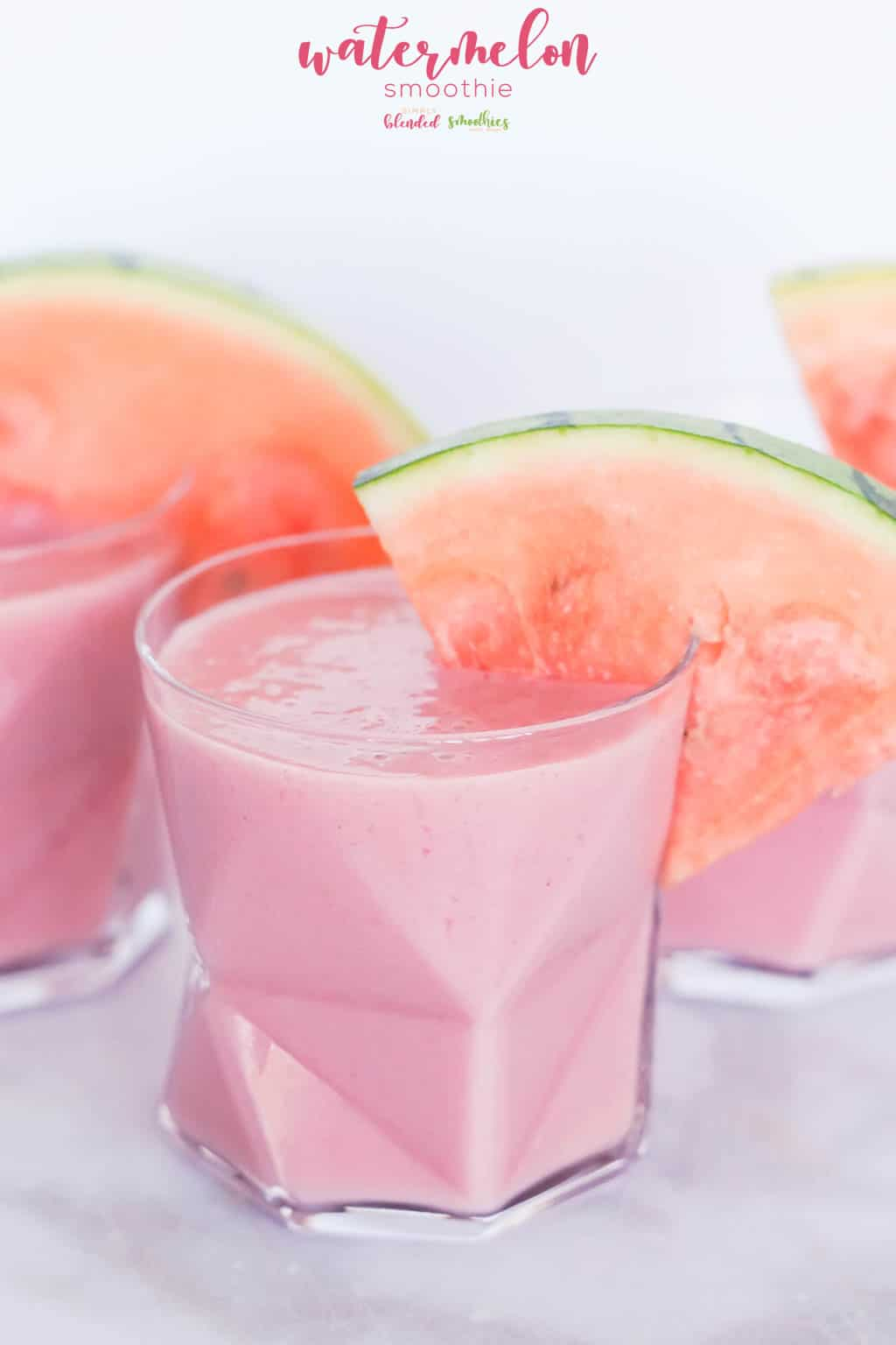 healthy watermelon smoothie