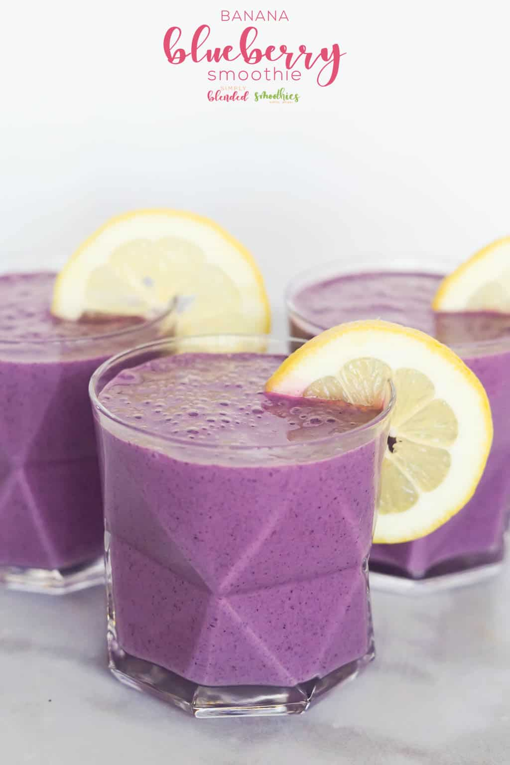 Blueberry Banana Smoothie - An Easy And Delicious Blueberry Smoothie Recipe