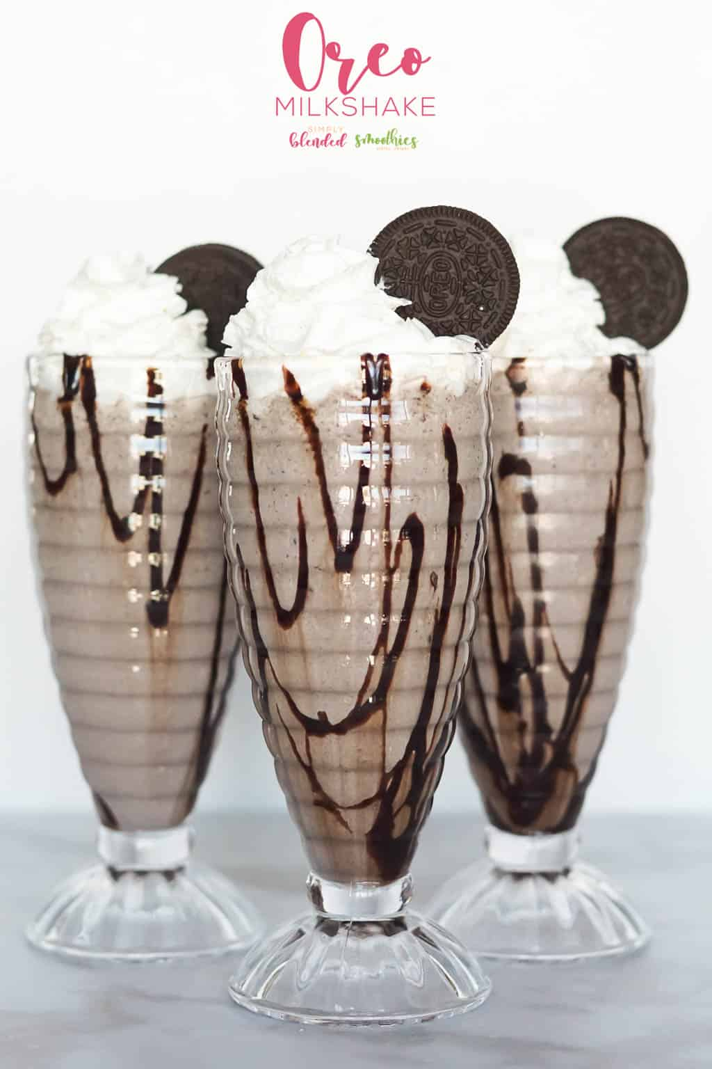 Easy Oreo Milkshake recipe