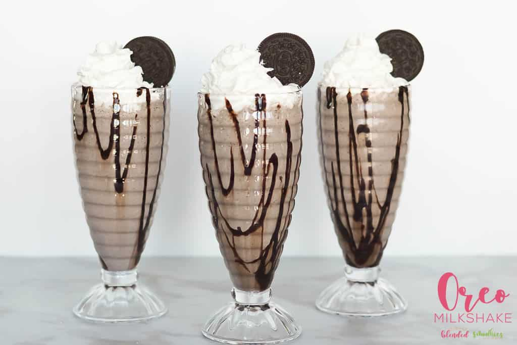 The best Oreo milkshake recipe ever