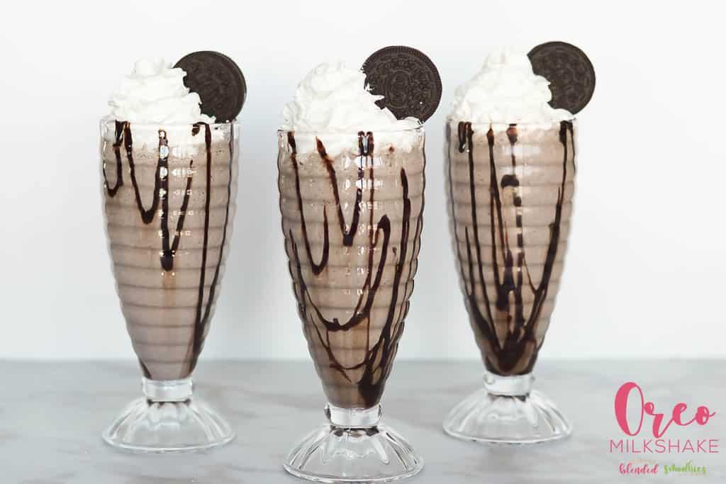 The best Oreo milkshake recipe ever