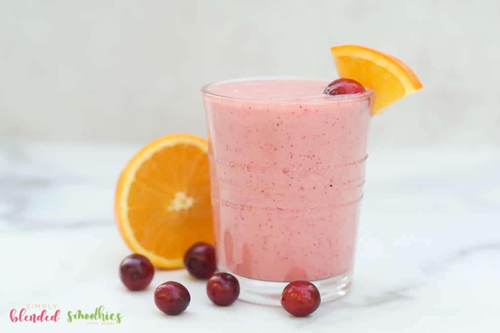 Orange Cranberry Smoothie Recipe