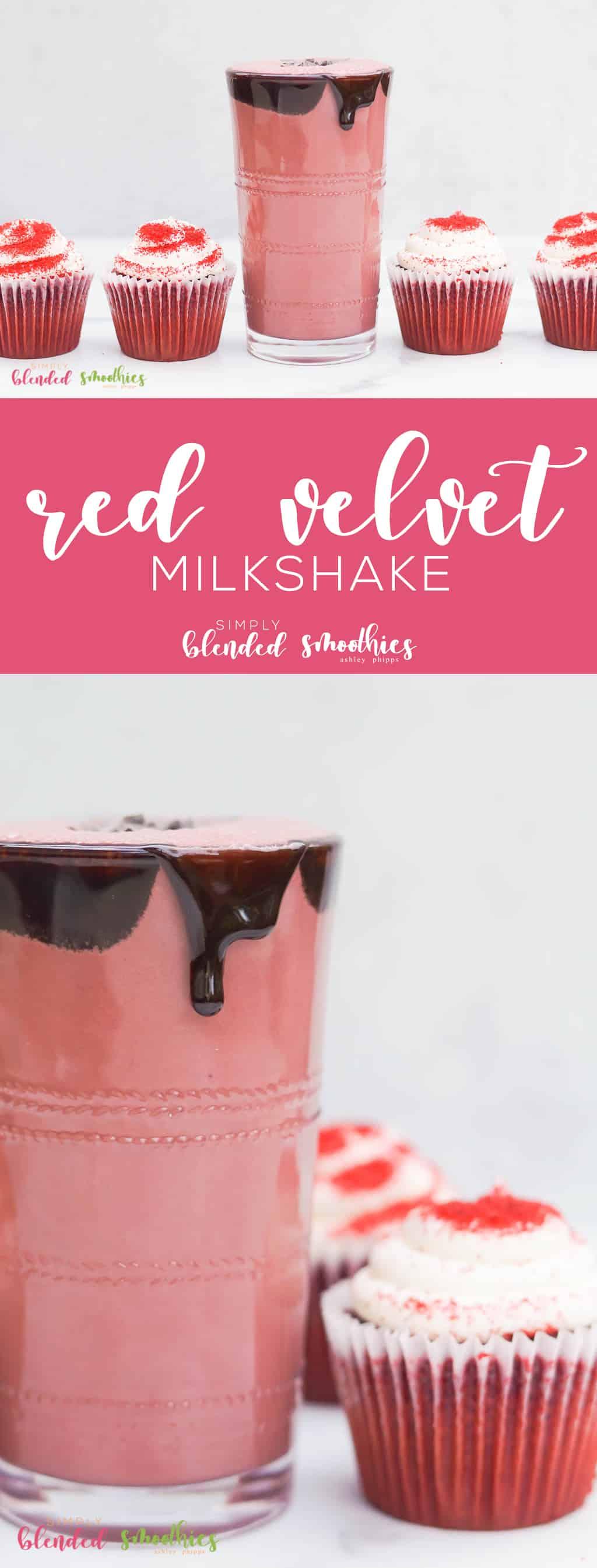 Red Velvet Milkshake Recipe