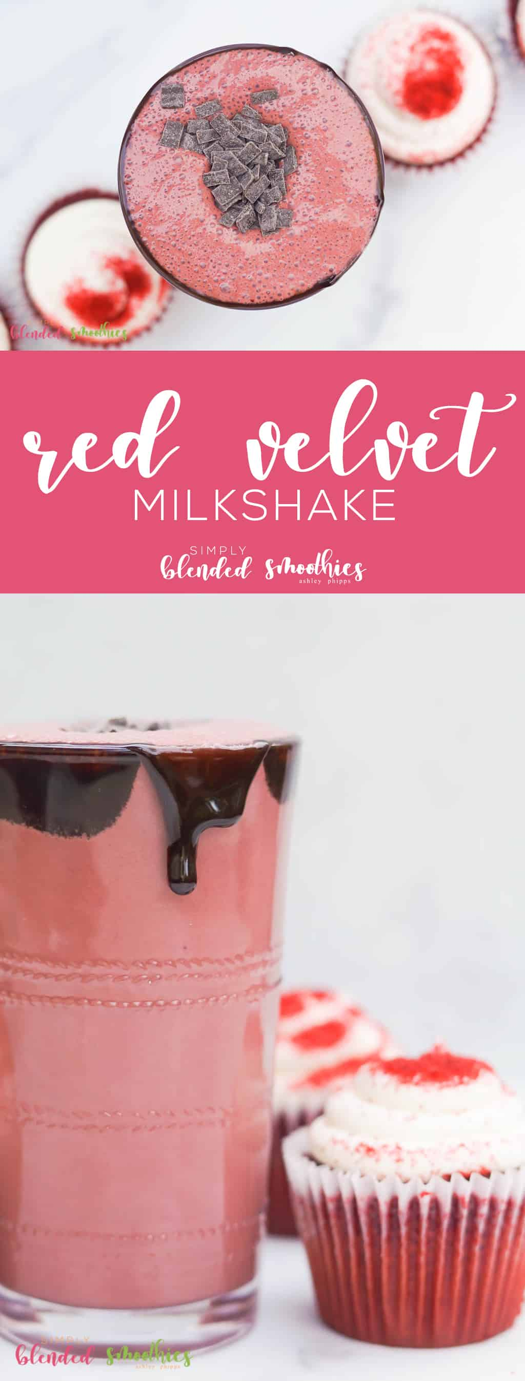 red velvet milkshake - this delicious and so easy to make red velvet milkshake is a great dessert any time of year but extra special around valentines day