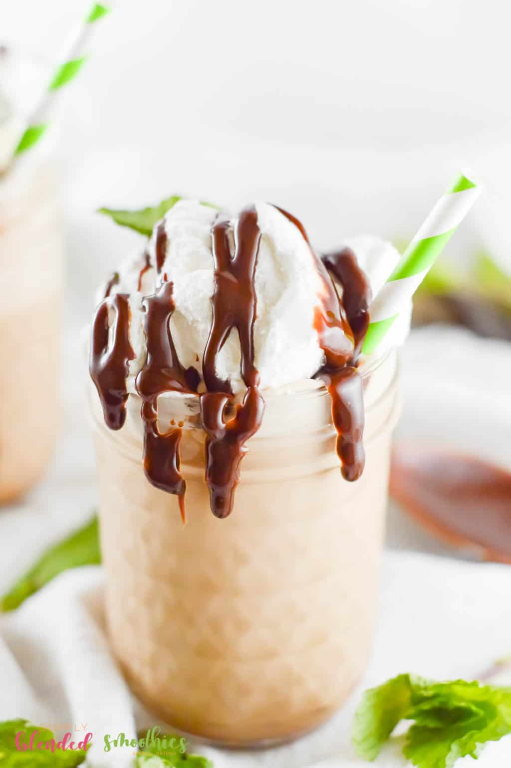 how to make a Mocha Frappe in your own home