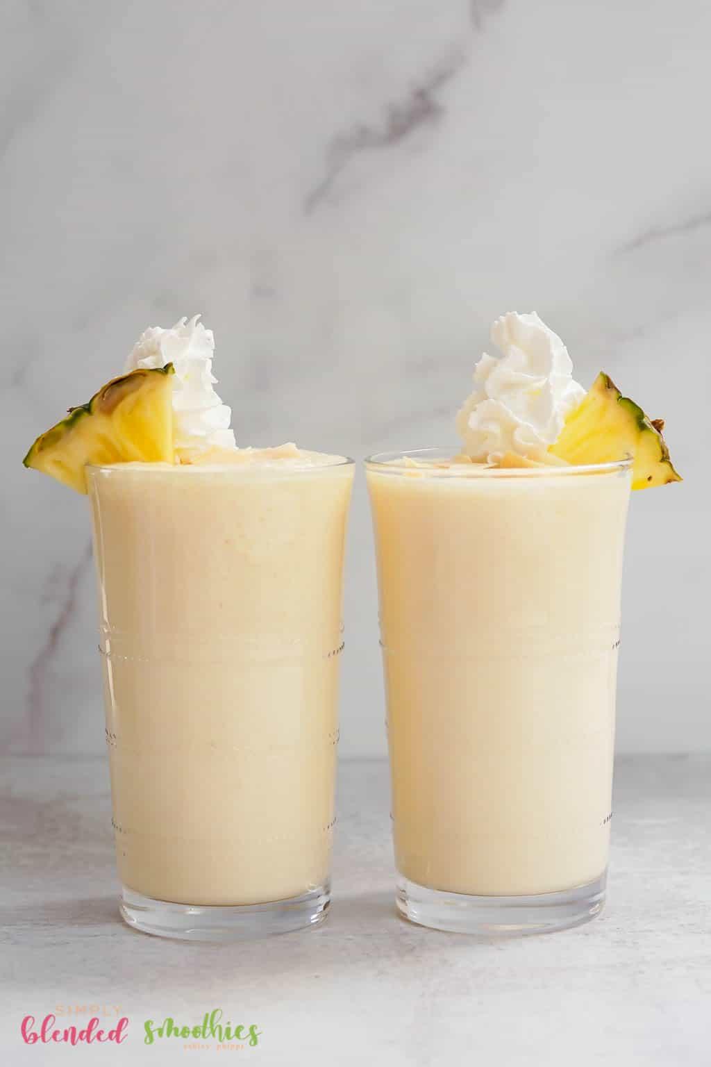 Pineapple Milkshake Recipe